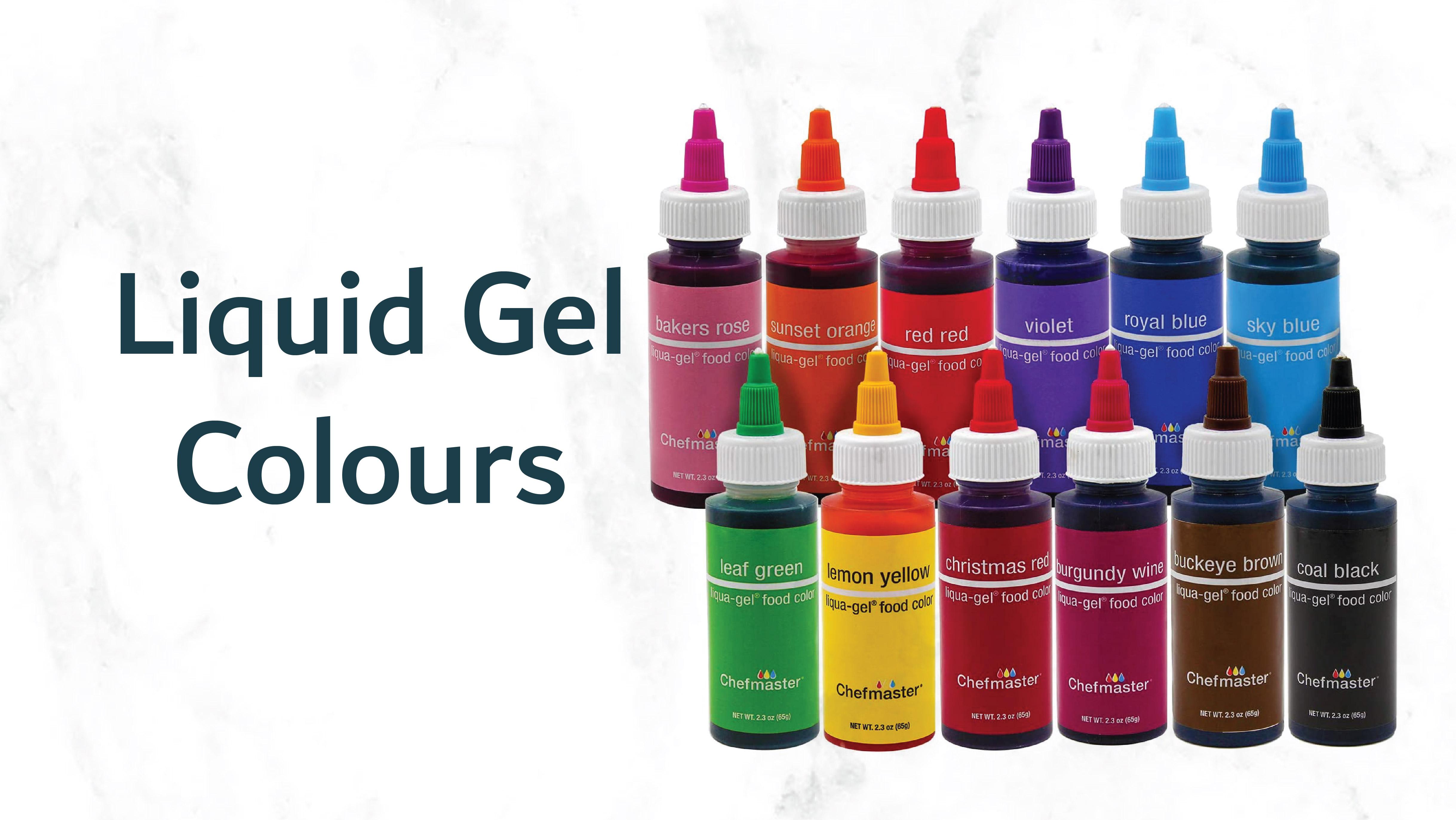 Liquid Gel Colours