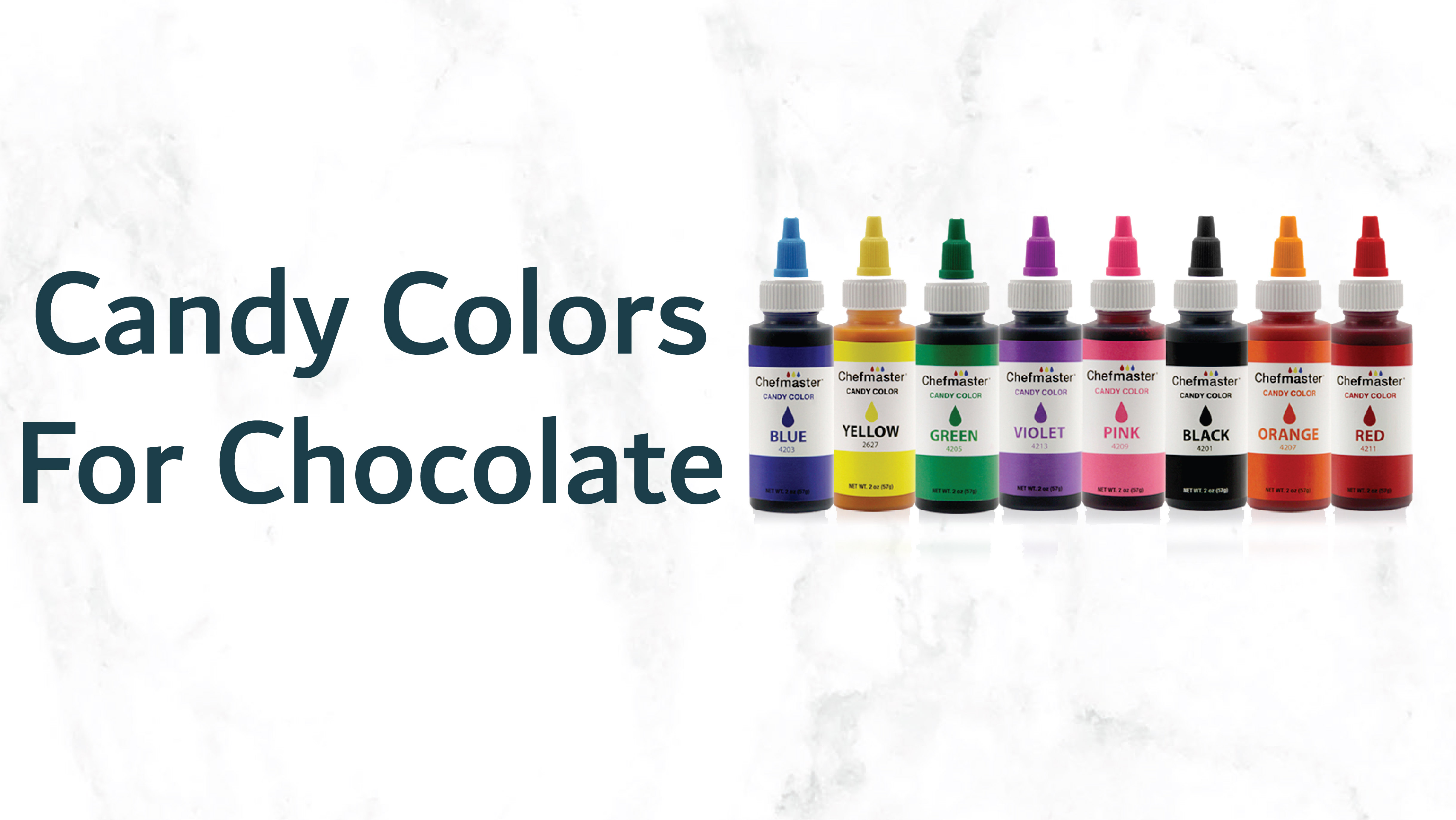 Candy Colors for Chocolate