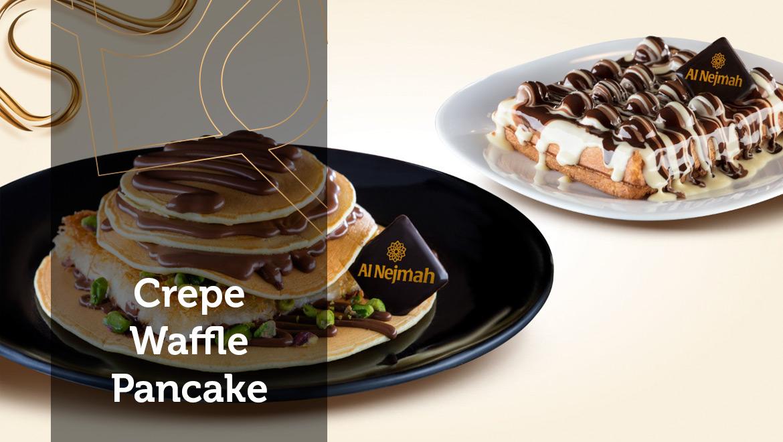 Crepe-Waffle-Pancake