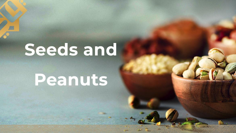 Seeds and Peanuts