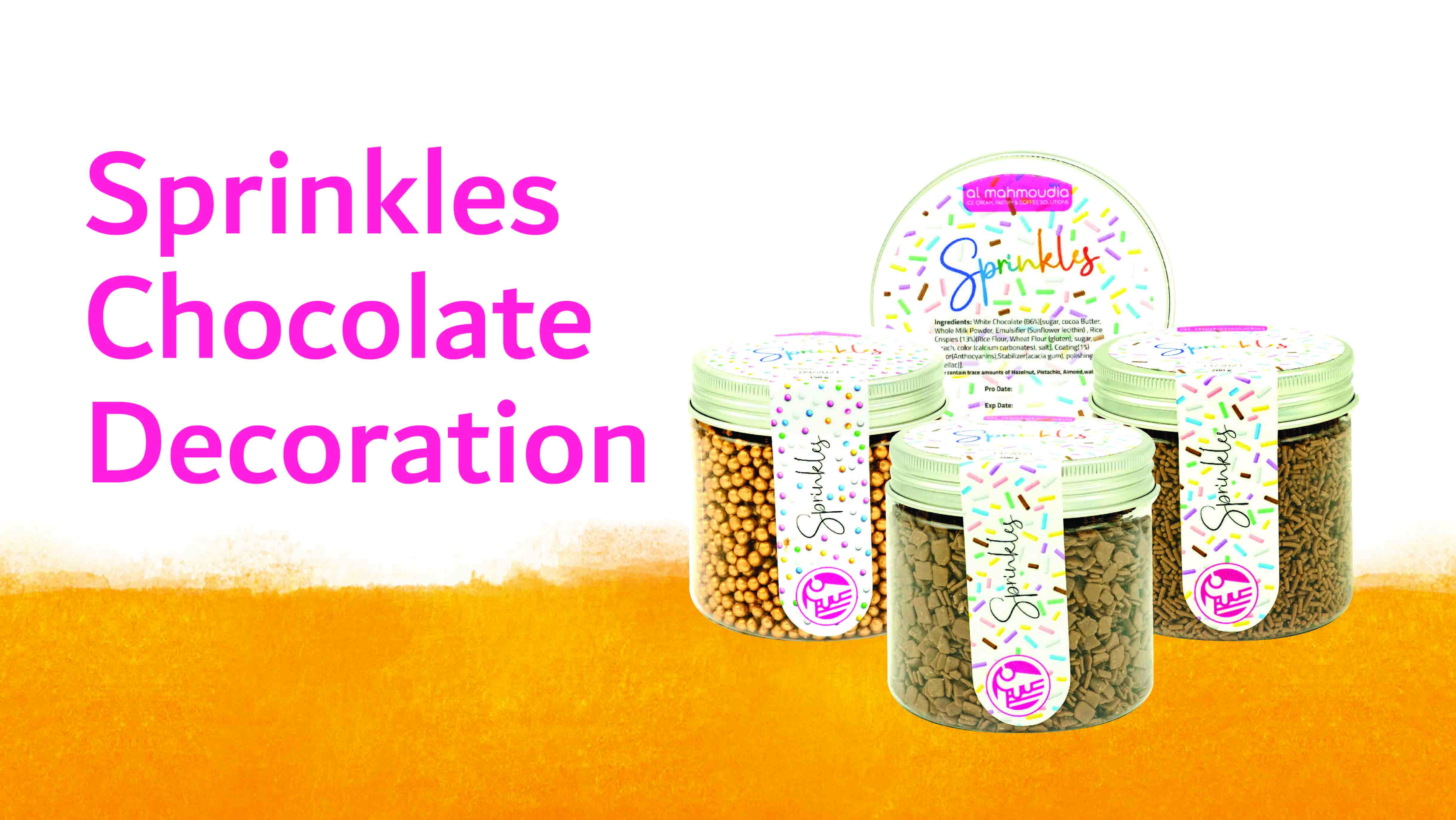 Sprinkles and Chocolate decoration