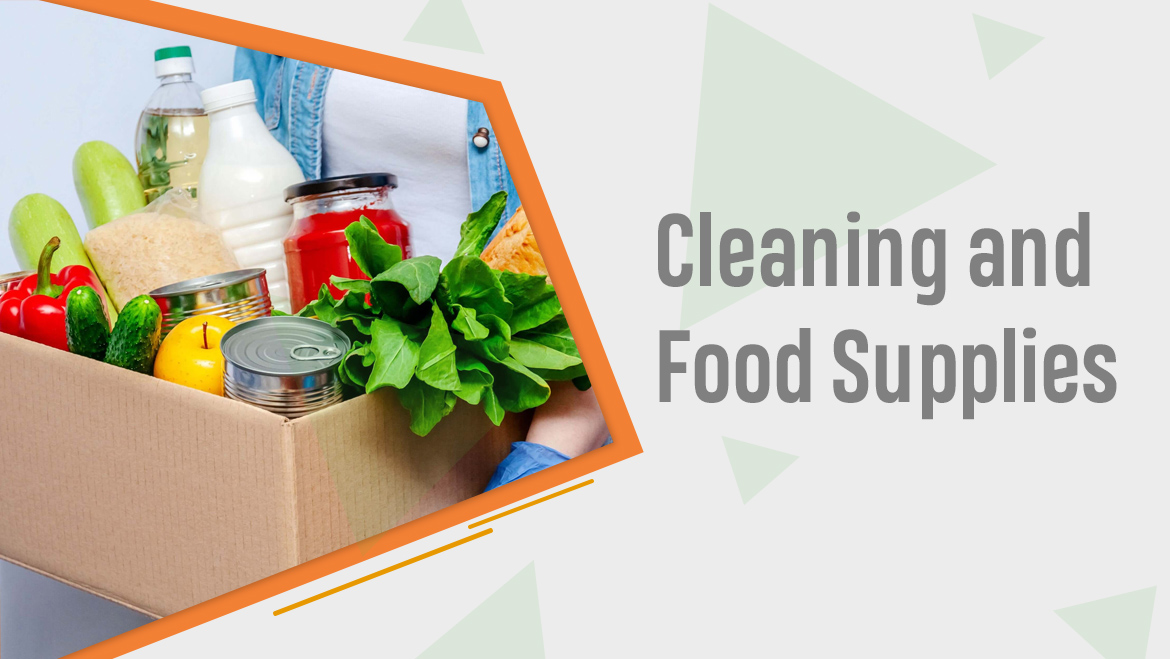 Cleaning and Food Supplies