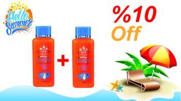 Lamsa SPF 180ml 2pcs - Discount 10%
