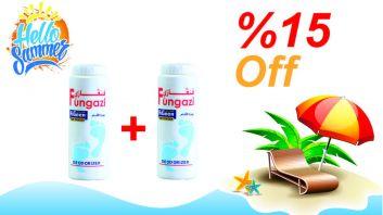 Fungazi Powder 2pcs 75gm - Discount 15%
