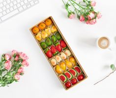 Marzipan  with Fruit Flavor