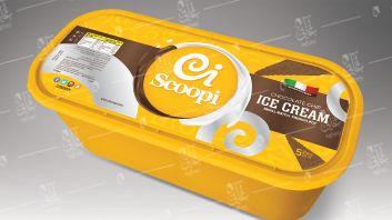 Box italian Ice Cream 5 Litre