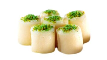 حلاوة الجبن قشطة خام