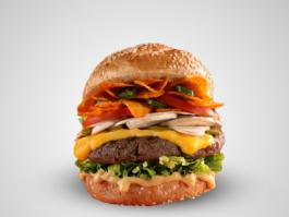 Doritos Burger Meal