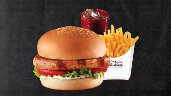 Combo #3: Chicken Burger, Fries & Drink