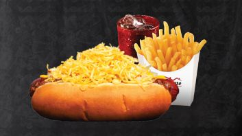 Combo #7: Monster Cheese Coney, Fries & Drink