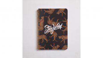 دفتر سلك الفهد حجم A4 كبير - 3 مواضيع