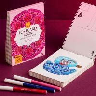 دفتر الألوان PostCard حجم A6
