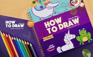 كتاب تعليم الرسم للأطفال