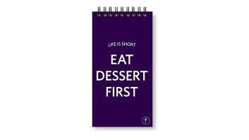 دفتر قائمة المهام السلك (تناول الحلويات اولاً)
