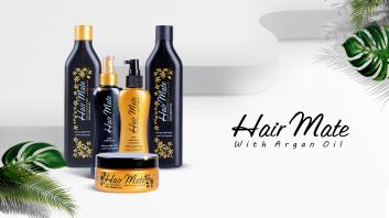 HairMate Argan Oil Pcakage