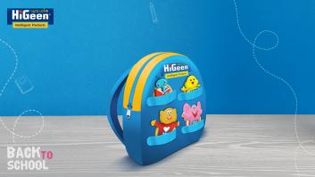 حقيبة شخصيات هاي جين للاطفال