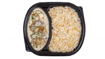 كفتة بالطحينية مع أرز بالشعيرية