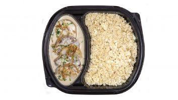 كفتة بالطحينية مع أرز القرنبيط