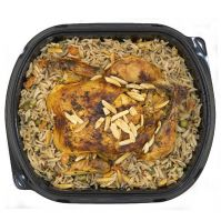 Stuffed Chicken with Ouzi Rice