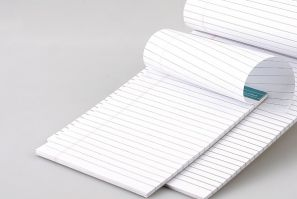 ABC A5 White Note Pad