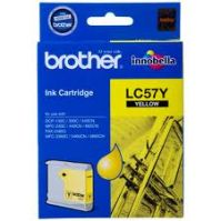 Brother LC-57Y Yellow Ink