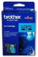 Brother LC-67C Cyan Ink