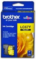 Brother LC-67Y Yellow Ink