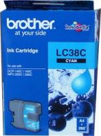 Brother LC-38C Cyan Ink