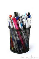 Metal Pens Cup