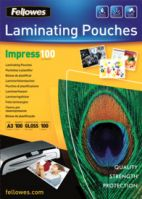 Fellowes A3 100Mic Laminating Pouches