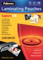 Fellowes A5 125Mic Laminating Pouches