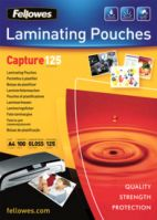 Fellowes A4 125Mic Laminating Pouches