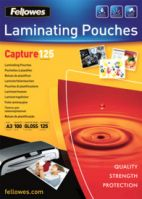 Fellowes A3 125Mic Laminating Pouches