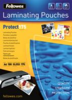 Fellowes A4 175Mic Laminating Pouches