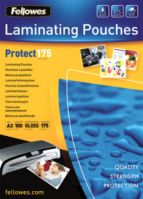 Fellowes A3 175Mic Laminating Pouches