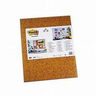 Post-it memoboard - brown 40*60cm