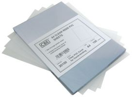 Clear Plastic Cover Sheet for Spiral Filing