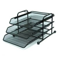 Metal Paper Trays 3-Tier