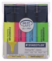 Staedtler 4 Pack Highlighters