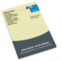 Info 100x150mm Lined Sticky Notes