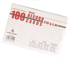 Record Cards