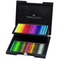 Faber-Castell Color Pencil Polychromos wood case of 72