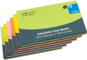 Info 125x75mm Pack of 6 Colors
