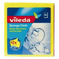Vileda Sponge Cloth Pack of 3