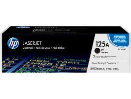 HP 125A Original LaserJet Toner Cartridge (CB540AD) BLACK