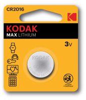 Kodak Lithium Button Cell batteries 2016 Pack of 2