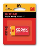 Kodak Zinc Extra Heavy Duty 9V Battery Pack of 1