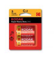 Kodak C Extra Heavy Duty Batteries Pack of 2