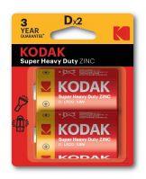 Kodak D Extra Heavy Duty Batteries Pack of 2