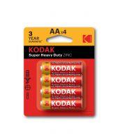 Kodak AA Extra Heavy Duty Batteries Pack of 4